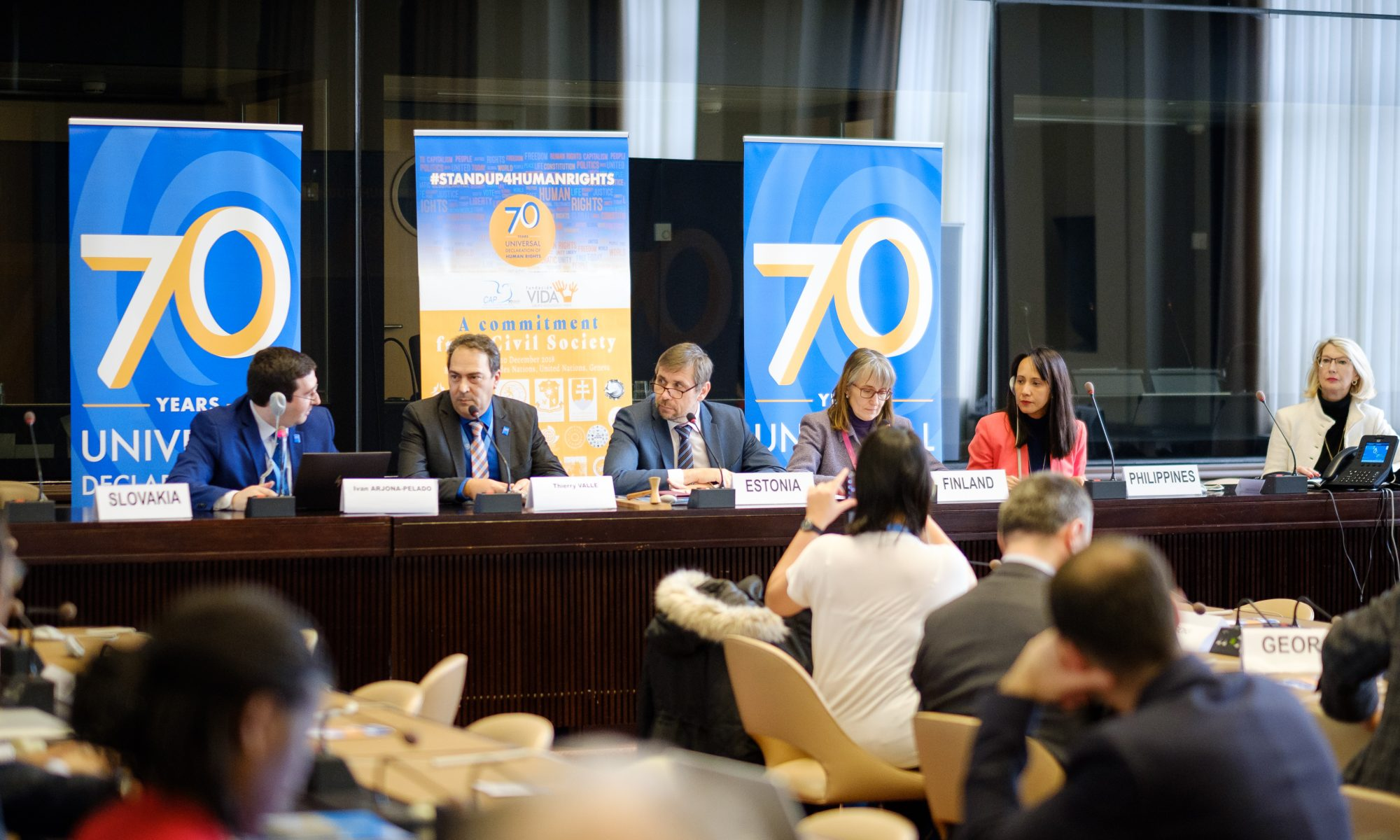 70 years of the U.N. Universal Declaration on Human Rights